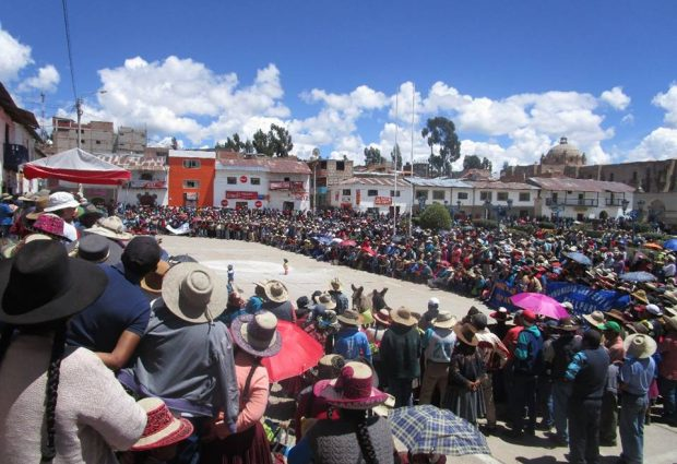 CHUMBIVILCAS: dirigentes anuncian asamblea popular