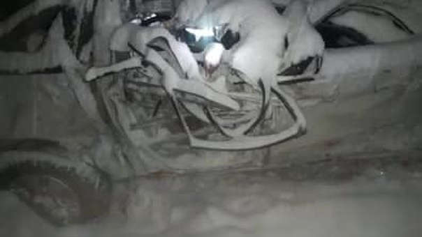 CHUMBIVILCAS:accidente de tránsito tras caída de nieve deja 4 muertos en