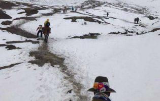REGIONAL:Senamhi pronostica lluvias y nevadas en la sierra centro y sur