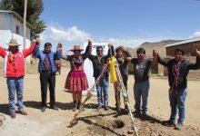 CHUMBIVILCAS:Municipalidad de Chamaca y Hudbay Perú inician construcción de trochas carrozables para mejorar la accesibilidad en el distrito