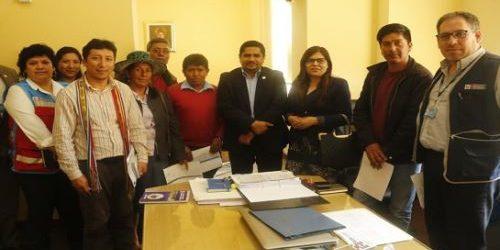 CHUMBIVILCAS:Mejoras en centros de salud de Chumbivilcas se harán vía Obras por Impuestos