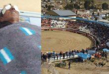CHUMBIVILCAS: Hombre es embestido por toro furioso y sobrevive aunque termina con graves lesiones