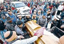 REGIONAL:Piden 17 años de prisión para comuneros que salieron a protestar contra Las Bambas