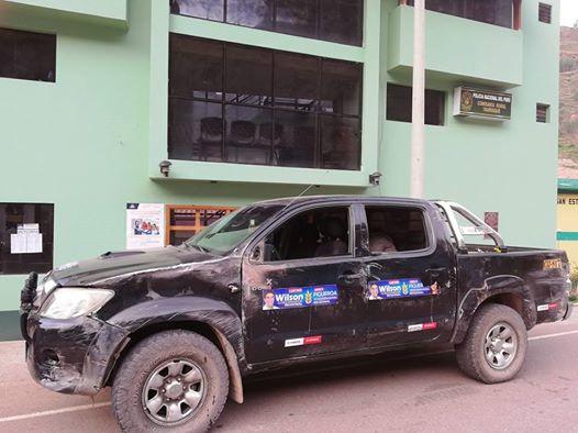 CHUMBIVILCAS:Candidata sufre accidente de tránsito mientras se dirigía a debate en Chumbivilcas
