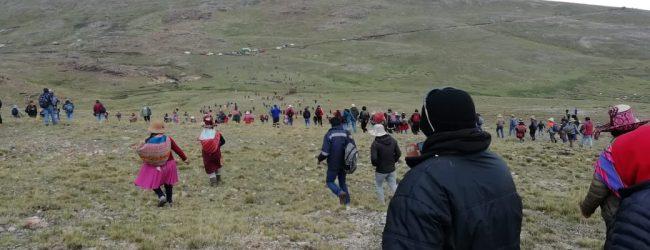 CHUMBIVILCAS: Conflicto en Chumbivilcas, Comunidades de Uchucarcco y Quehuincha responsabilizan al Gobierno Regional de Cusco