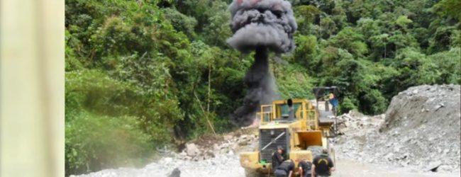 REGIONAL:Sentencia de prisión efectiva de 5 y 6 años a mineros ilegales en Quispicanchis por contaminación ambiental y minería ilegal.