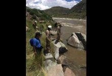 VELILLE: búsqueda de desaparecidos en río Velille ya tiene siete días
