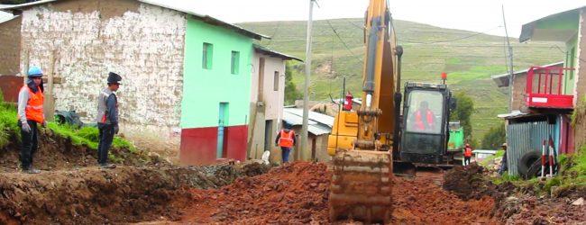 LIVITACA:Municipalidad de Livitaca y Hudbay Perú inician obra de pavimentación de pistas y veredas del distrito