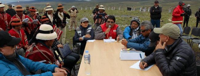 CHUMBIVILCAS: MTC pide a comuneros de apelar al diálogo para superar conflicto con minera Las Bambas
