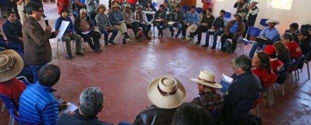 CHUMBIVILCAS:Ejecutivo y comuneros de Chumbivilcas se reunirán en Lima el 9 de abril