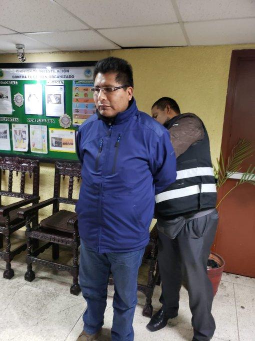 NACIONAL:Capturan a Walter Aduviri en Lima