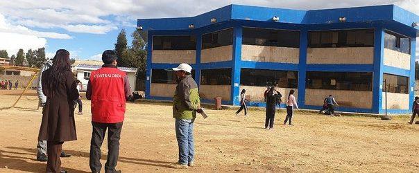 Advierten falta de presupuesto para ejecutar obra de servicios educativos en Chumbivilcas