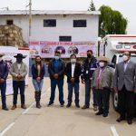 Donan ambulancia para distrito de Chamaca gracias a alianza entre DIRESA Cusco, la Municipalidad Distrital y Hudbay Perú