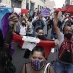 27 personas ya han sido detenidas durante las protestas tras la vacancia de Vizcarra