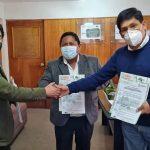 Se firma convenio para la elaboración del perfil de proyecto de  riego en la provincia de Chumbivilcas