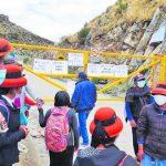 Población en Velille da tregua a mineras Las Bambas y desbloquea el Corredor Minero del Sur