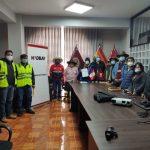 Hudbay Perú y la Municipalidad Distrital de Velille Perú inician estudios para la formulación del perfil del proyecto de pistas y veredas en su segunda etapa.