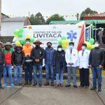 Hudbay Perú dona ambulancia y balones de oxígeno a la provincia de Chumbivilcas para mejorar la respuesta en salud