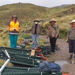 Productores agropecuarios de Ccollana Alta reciben postes metálicos y reactivan la economía comunal