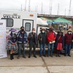 Hudbay Perú entregó moderna ambulancia al distrito de Velille