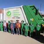 Nuevo camión compactador contribuirá al adecuado manejo de residuos sólidos y cuidado del medio ambiente en el distrito de Velille.