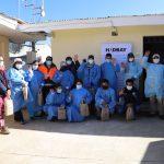 Puesto de salud de Chamaca inicia campaña de vacunación contra el covid-19 para personas de 40 a 49 años
